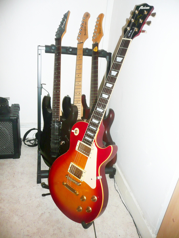 guitare electrique maison